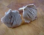 Rustic Cufflinks -$18-