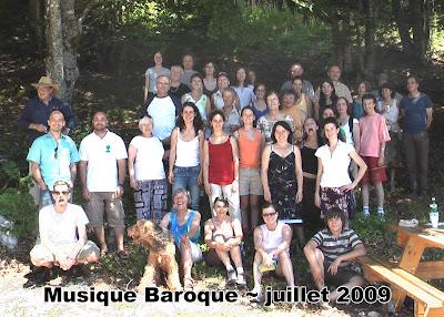 stage de musique baroque et ancienne