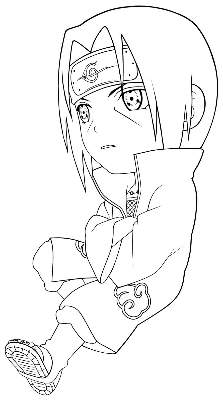 coloring pages of naruto - photo#23