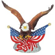 Free patriotic eagle clip art images for Americans who love their country.