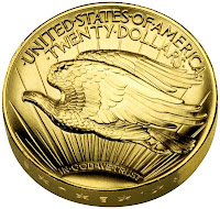 Reverse of High Relief Double Eagle