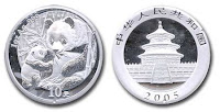 Real Silver Panda 1 Oz coin