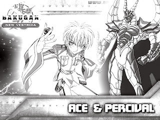 Bakugan black and white printables