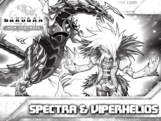 Printable bakugan black and white