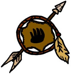 Clipart of a native american dream catcher