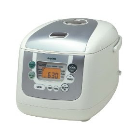 Sanyo ECJ-HC100S 10-Cup Micro-Computerized Rice Cooker and Slow Cooker