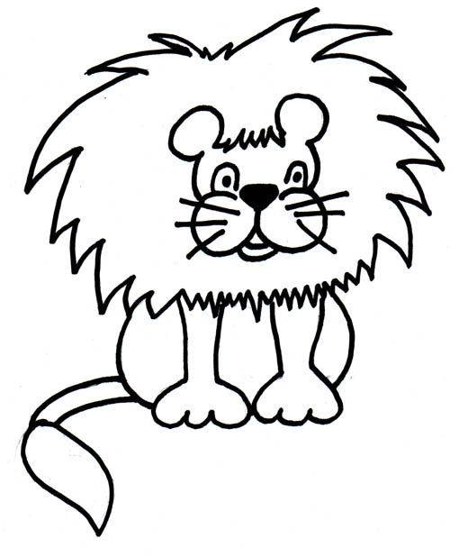 black stars clipart. The final lion clipart comes