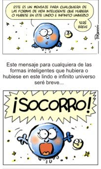 Mensaje urgente de la Tierra