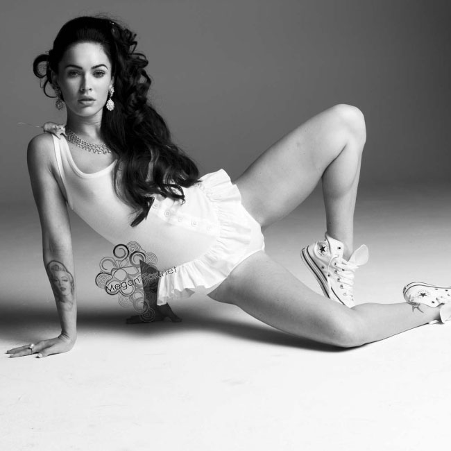 Megan fox spread eagle for the new york times