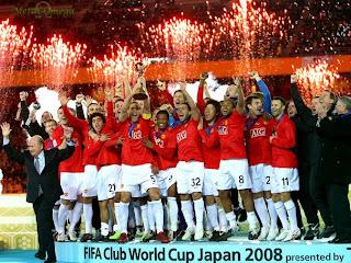 Manchester United Campeão do Mundo FIFA Club World Cup 2008