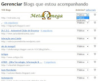 Painel de Seguidores Blogger