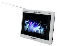 TV Com Memória Portátil X-Sound! MP4 Mobile TV 3.5