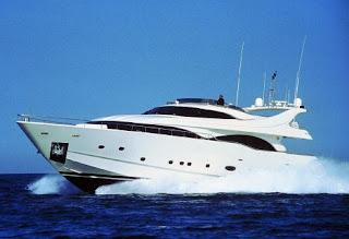 Ferretti Custom Line luxury yacht