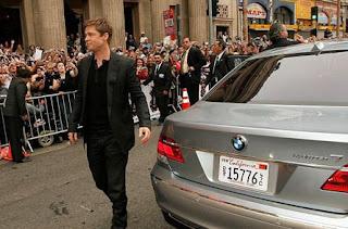 Brad Pitt BMW Hydrogen 7 Ocean's 13