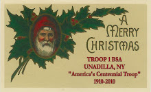 "Merry Christmas from ""America's Centennial Troop"""