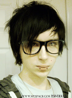 short emo hair
