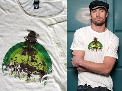 green tshirt