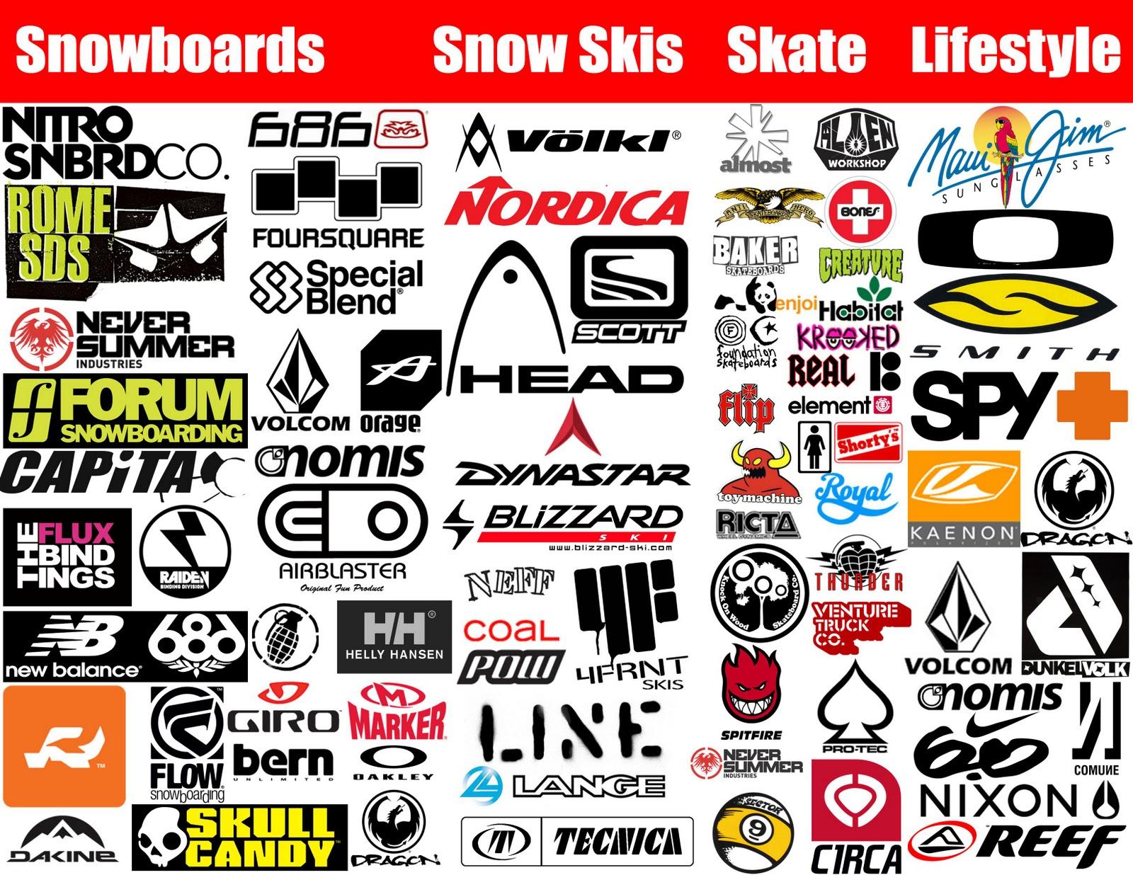 snowboard boots brand logo