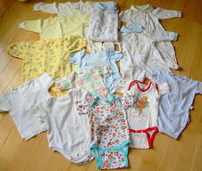 Lot pyjamas bébé 20$. Cliquez sur l'image pour la description.