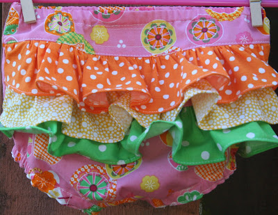 Patterns for crib sheets, dust ruffle, pers, diaper