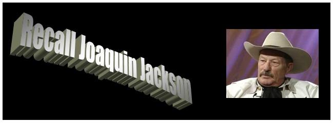 Recall Joaquin Jackson