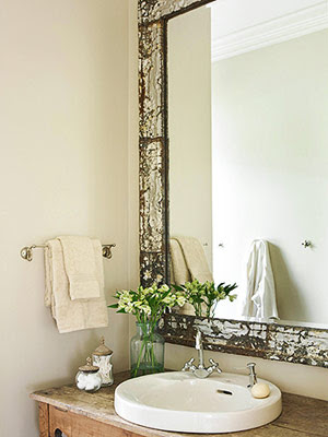 decorology rustic but elegant bathrooms