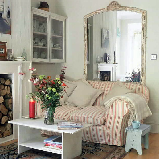 Country Shabby Chic Livingroom