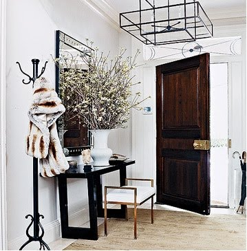 entryway inspiration: prepare for the influx of holiday guests