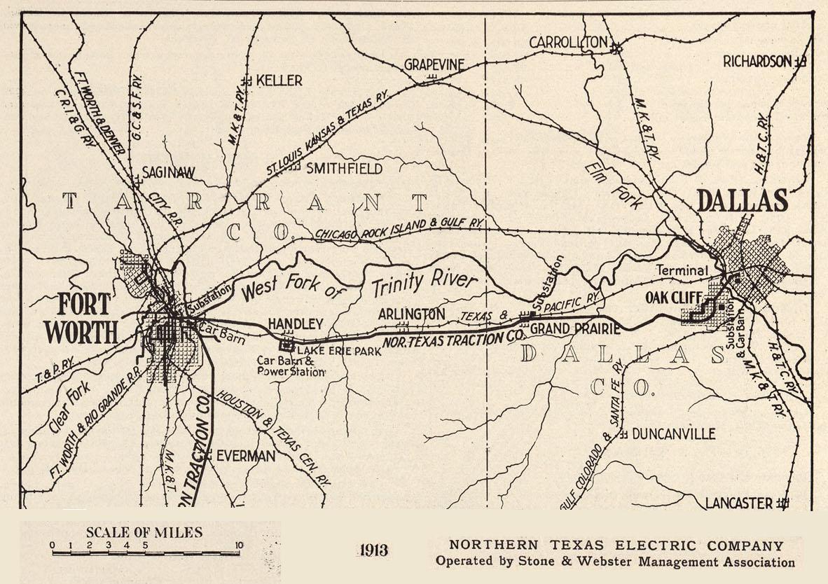 1963 Eastern Hills High School EHHS Highlanders: Early DFW Maps
