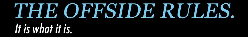 The Offside Rules