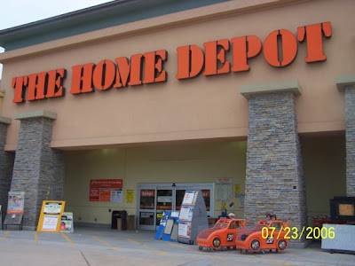 home depot store or perversion place