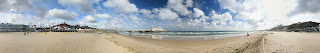 360 panorama of Bournemouth Beach