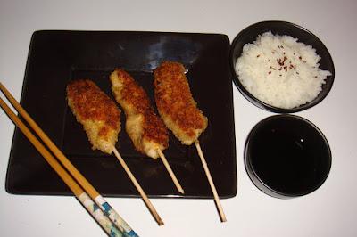 yakitori au poulet
