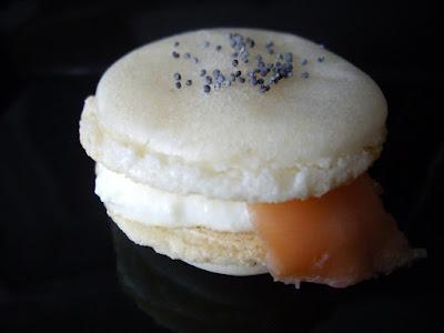 Macarons saumon
