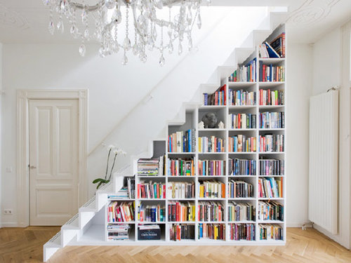 pretty bookshelves