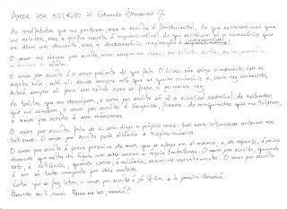 Amor por escrito, Eduardo Loureiro Jr.