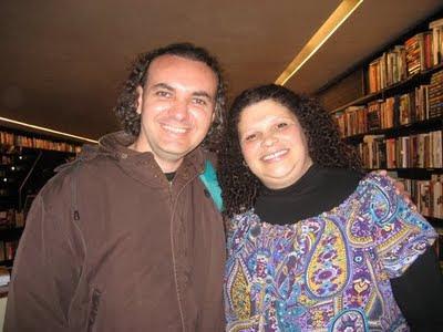 Eduardo Loureiro Jr. e Carla Dias - foto de Rubia Elias