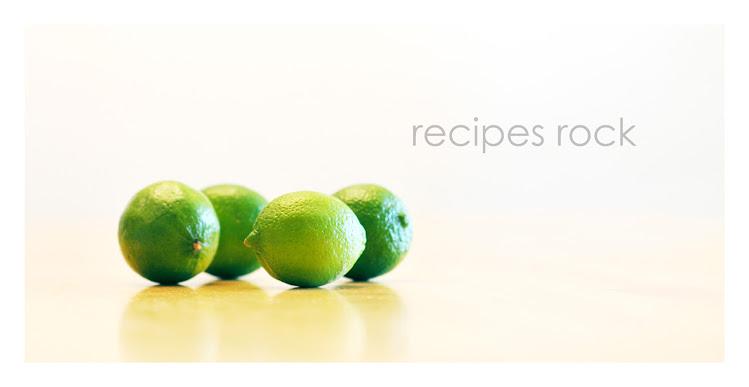 recipes rock