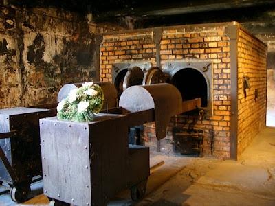 Auschwitz Crematorium Memorial