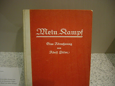 First edition of Adolf Hitler's book Mein Kampf
