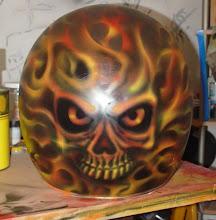 Pintura personalizada de capacetes