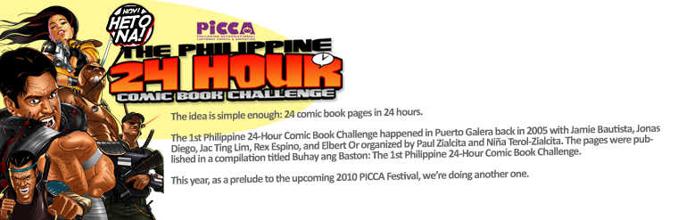 The Philippine 24 Hour Comic Book Challenge