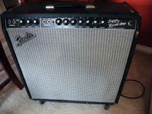 1969 Fender Super Reverb Amp In Portland For 700