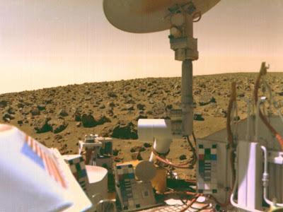 Mars' Utopian Plain