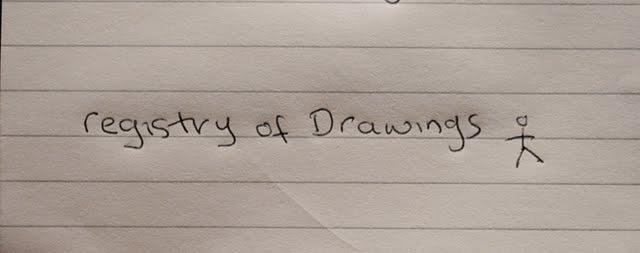 Registry of Drawings