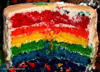 IMG 3825 Rainbow Cake