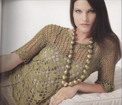 Modelos De Blusas Meia Esta    O Em Crochet