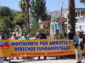 AMNISTAI Y DERECHOS FUNDAMENTALES EN HUANTA