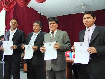 REGIDORES ELECTOS DE HUANTA