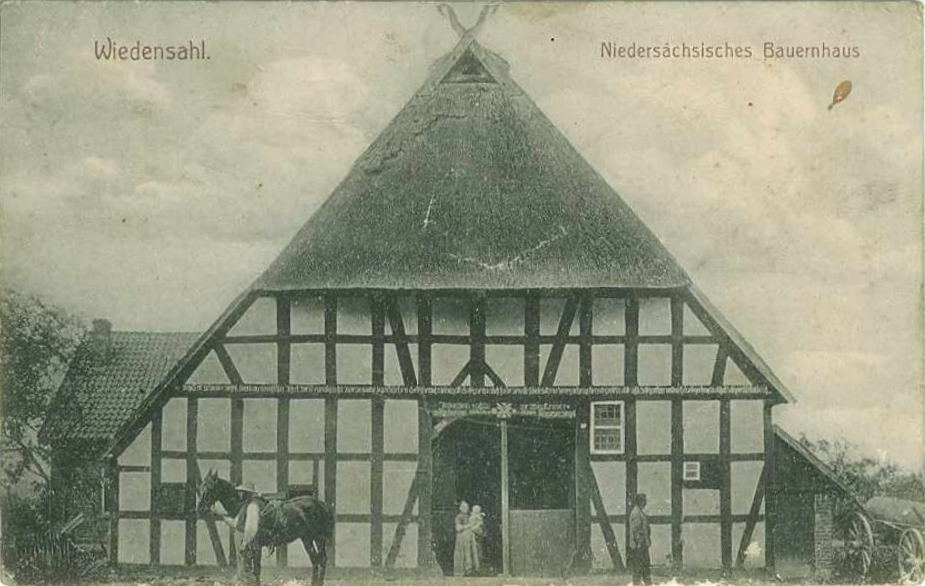 niedersächsisches fachwerk bahofa bauernhofarchiv wiedensahl